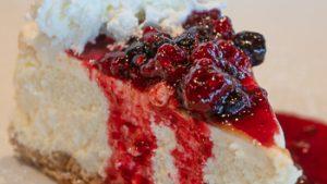 Dessert stock image for Settlers Bay Lodge